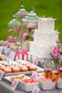 Buffet Dessert Table Pink And Orange Wedding Ideas Gorgeous Pink And Orange