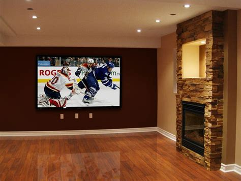 basement ideas fireplace for the home