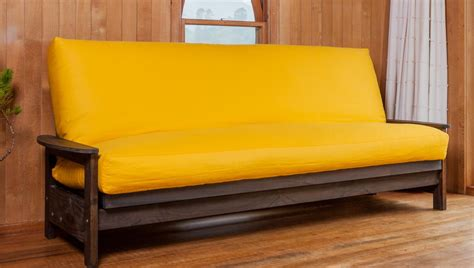 yellow futon yellow futon cover