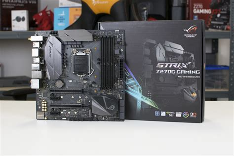 Asus Rog Z270g Strix Gaming asus rog strix z270g gaming motherboard review play3r
