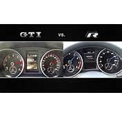 Video VW Golf VI GTI Edition 35 300 PS Vs R