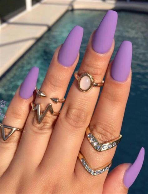 matte purple nail 25 best ideas about matte nail designs on