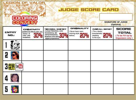 printable judging cards judge score card lov contest by johnbecaro on deviantart