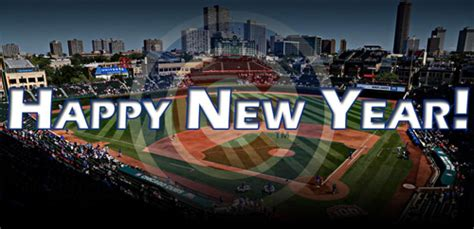 new year for cubs happy two thousand fifteen chicago cubs