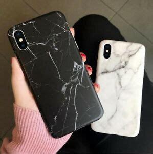 granite marble tpu soft phone case cover skin  iphone