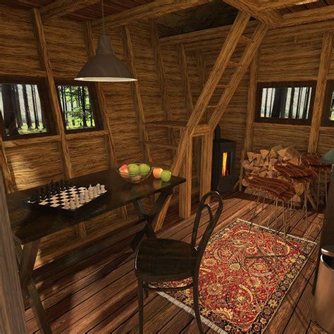 pentagon cabin plans
