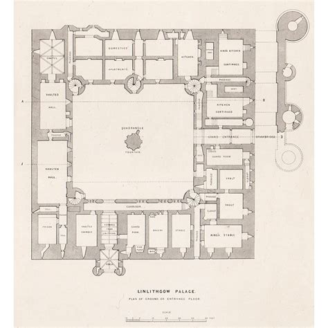 palace floor plans linlithgow palace ground floor plan britton images
