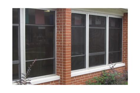 can window and security screens help to keep our