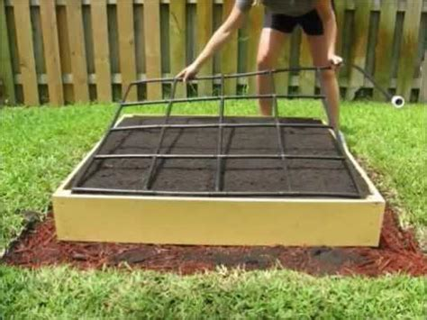 square foot gardening without raised beds planting guide and irrigation system in one