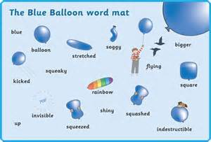 blue balloon word mats free early amp primary teaching resources eyfs amp ks1