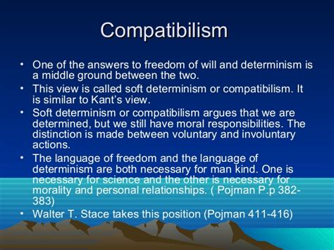 Free Will Vs Determinism Essay by Determinism Vs Compatibilism Essay 20th Century Physics Essays And Recollections Sts