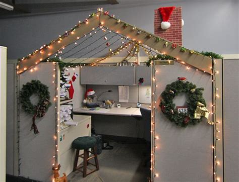 cube decorations 1000 ideas about christmas cubicle decorations on