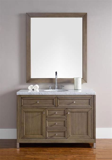 bathroom vanity chicago james martin chicago single 48 inch transitional