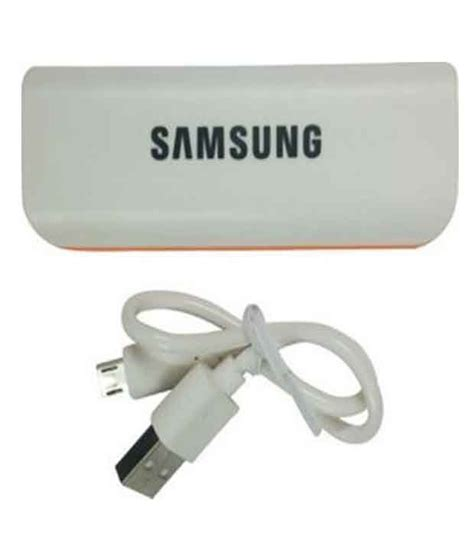 Power Bank Samsung Model X 818 samsung sa 91 2600 mah power bank white power banks at low prices snapdeal india