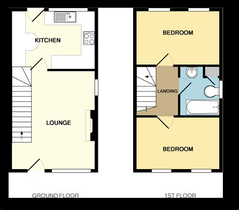 floor plan uk uk terraced house floor plans house design plans