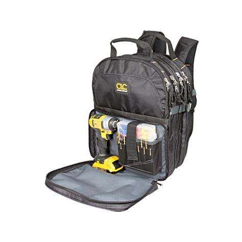 small tool backpack clc 75 pocket backpack tool bag