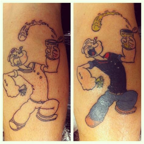 popeye forearm tattoo popeye the sailor images for tatouage