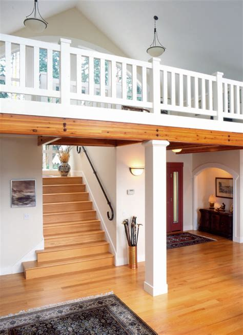 Dining Room Furniture Seattle entry and stairs to loft traditional staircase
