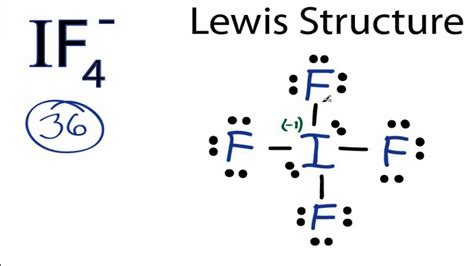IF4- Lewis Structure: How to Draw the Lewis Structure for ... I3 Lewis Dot Structure