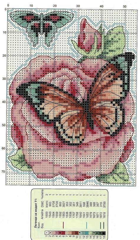 schemi punto croce gratis fiori ricami e schemi a punto croce gratuiti schemi farfalle e