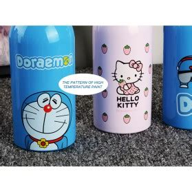 Botol Minum Model Wood 500ml botol minum stainless steel hello 350ml model d pink jakartanotebook