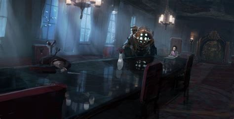 artz design studio bioshock 2 environment concepts and design pitches by