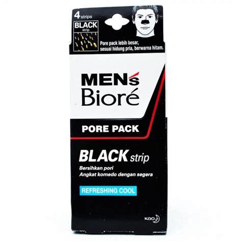 Biore Porepack Black 4 Psc biore mens pore pack black 4s