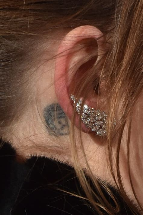 dakota johnson tattoos the dakota johnson s right ear photo who2