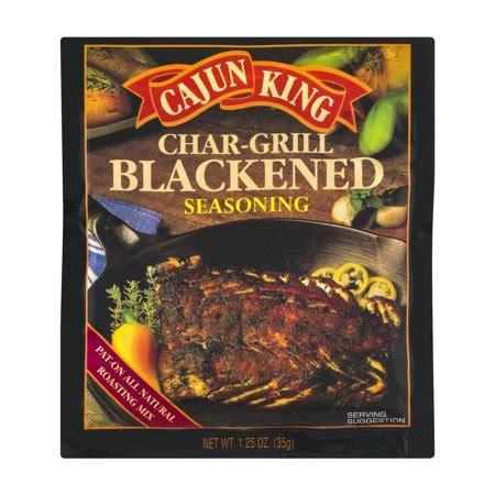 cajun king cajun king char grill blackened seasoning 1 25 oz