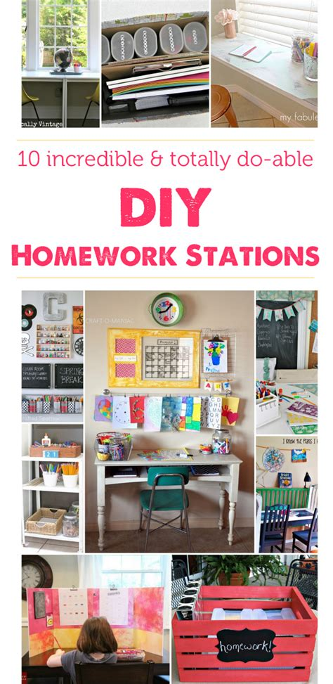 homework station ideas homework stations