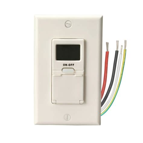 Switch Timer woods 15 7 day in wall programmable digital timer