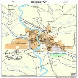 douglas map douglas wyoming map 5621125