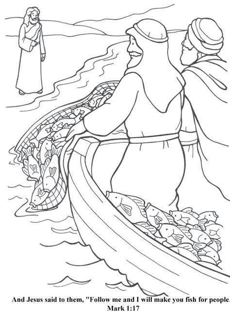 coloring page jesus calls matthew best 25 fishers of ideas on matthew 4
