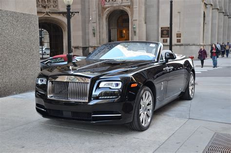 roll royce dawn black 2016 rolls royce dawn stock r353a for sale near chicago