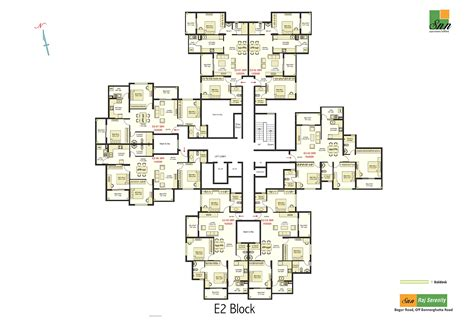 serenity floor plan snn raj serenity apartments and flats for sale in bannerghatta begur road south