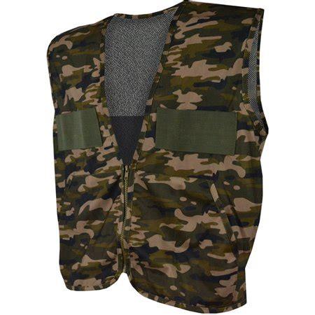 Gamis Actual Kode 4039 C Size Xl quietwear camo vest with bag brown camo