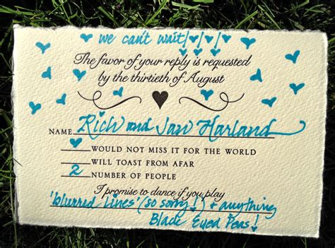 how to answer a wedding response card rsvp cards my favorite things