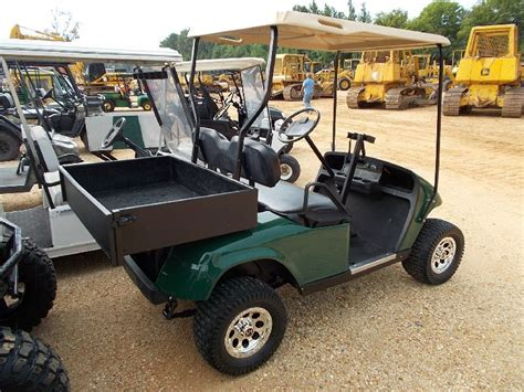 golf cart bed e z go golf cart s n 862008 gas canopy carry all bed
