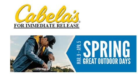bring the great outdoors to you with cabela s home cabin cabelas spring great outdoor days