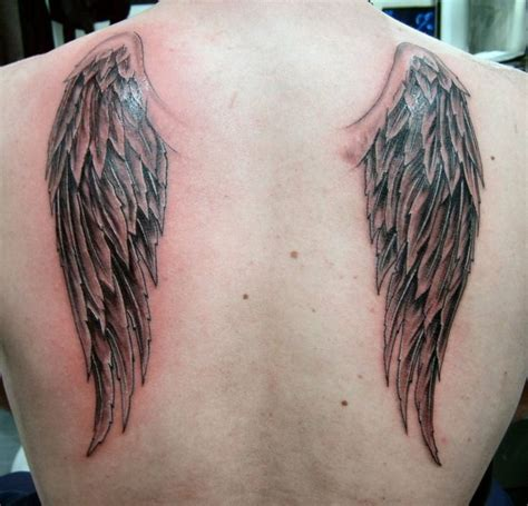 angel tattoo ta angel wings tattoo on back design idea http