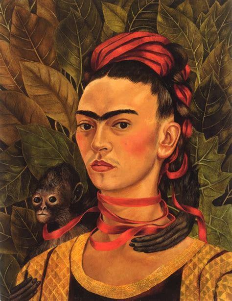 frida kahlo par frida 2267019353 frida kahlo self portrait with monkey 1940 frida autoportraits peinture et