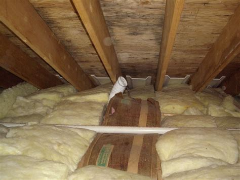 bathroom vent into attic poor venting of bathroom fans leads to moisture mold in