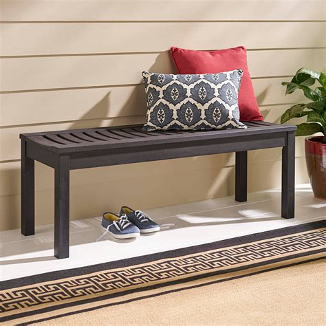 better homes and gardens bench better homes and gardens delahey backless outdoor garden