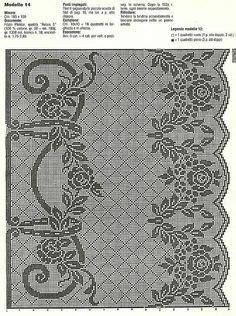 Elina Tunik Cf crochet pattern filet crochet peacock chair set