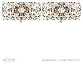 printable wedding invitation templates theruntime com