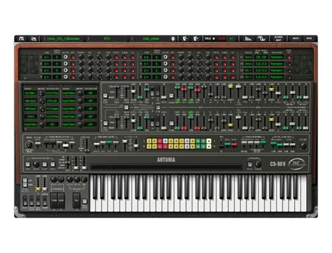 best arturia synth arturia cs 80 v software synthesizer reviews prices