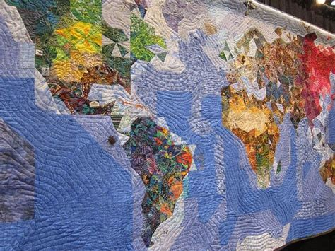 Map Of The World Quilt by Map Quilt Favorite Things