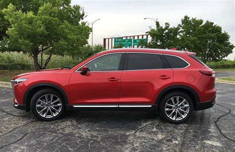 auto review 2016 mazda cx 9 crossover balances style with