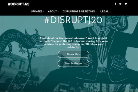 Los Angeles Superior Court Warrant Search Dreamhost Fights Search Warrant For Info On Disruptj20