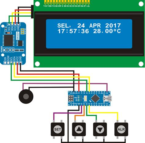 membuat jam digital arduino membuat jam digital dan alarm dengan arduino nano nandan